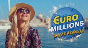 Супер-розыгрыш Евромиллионов с джекпотом в €130 млн